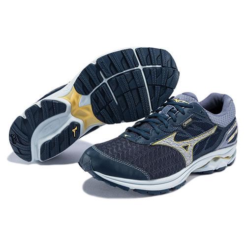 美津浓J1GC187403 WAVE RIDER 21 GTX男子跑步鞋图4高清图片