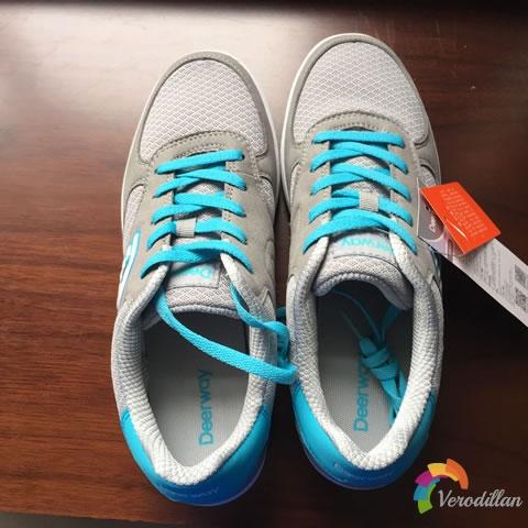 德尔惠T1513897男子休闲板鞋试用评测图1