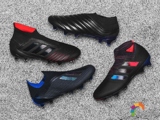 夜空极光:Adidas Archetic Pack足球鞋套装