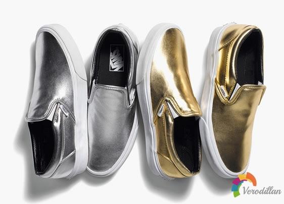别样奢华:Vans Classic Slip-On Metallic系列发售曝光