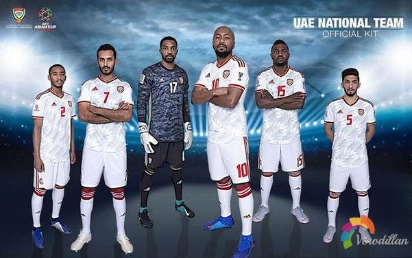 阿迪达斯阿联酋国家队2019亚洲杯主客场球衣曝光图2