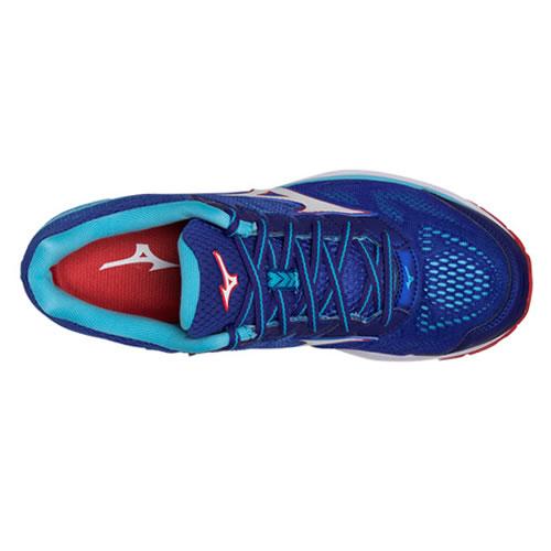 美津浓J1GC180302 WAVE RIDER 21男子跑步鞋图3高清图片