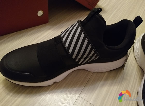 试穿测评:特步982319110067跑鞋上脚体验