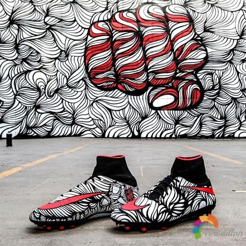 Nike OUSADIA ALEGRIA系列的设计艺术