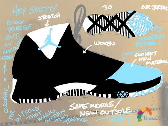 致敬传奇:Air Jordan XXX设计详细解读图2