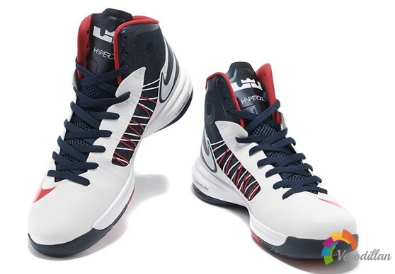梦之队配色:Nike Lunar Hyperdunk 2012 USA设计解读