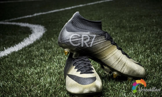 奢华鞋作:Nike Mercurial CR7 Rare Gold简评图1
