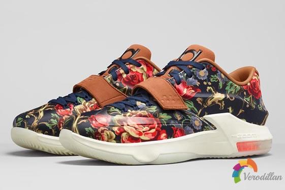 花卉主题系列:Nike KD7 EXT QS Floral上市简评