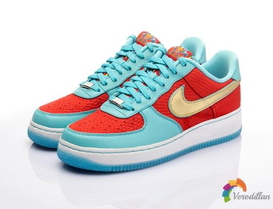 端午龙文化:Nike Air Force 1端午限量款发售简评