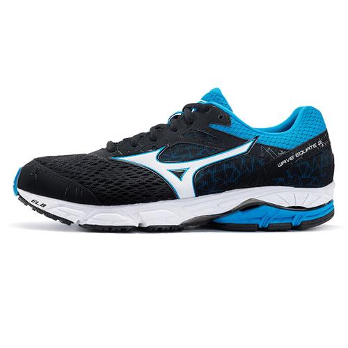 美津浓J1GC184801 WAVE EQUATE 2男子跑步鞋