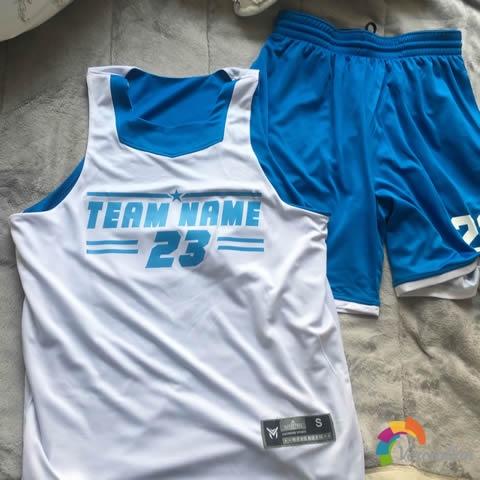 试穿测评:篮人MAN2016B015篮球服套装试用体验