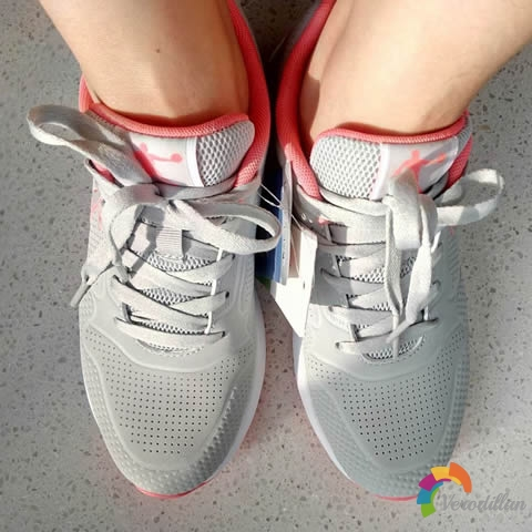 试穿测评:乔丹GM2270339休闲跑鞋试用体验