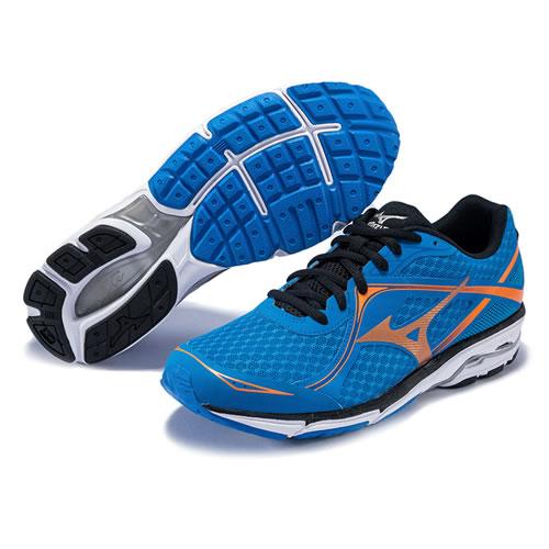 美津浓J1GC172154 WAVE UNITUS 3男子跑步鞋图4高清图片