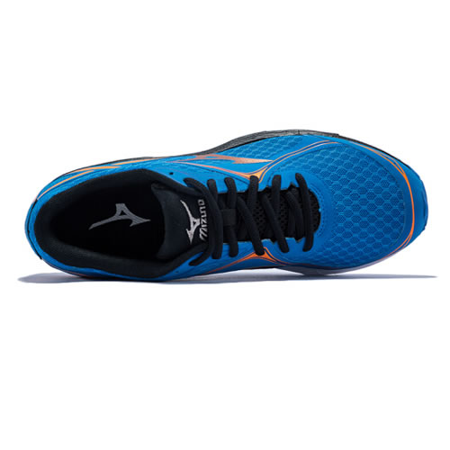 美津浓J1GC172154 WAVE UNITUS 3男子跑步鞋图3高清图片