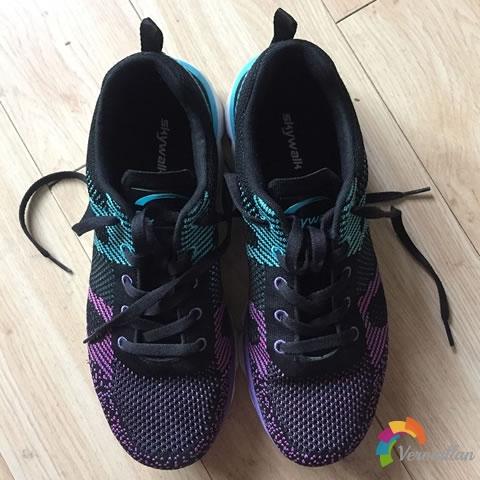 试穿测评:天步9361118秋冬跑鞋试用体验