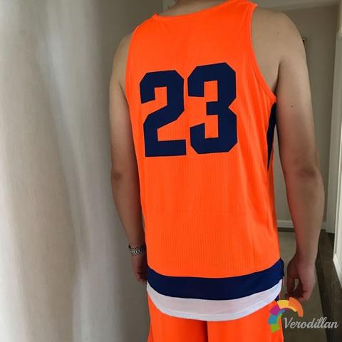 试穿测评:篮人MAN2017B021篮球服套装试用体验