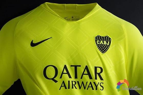阿根廷博卡青年2019第二客场球衣发布解读