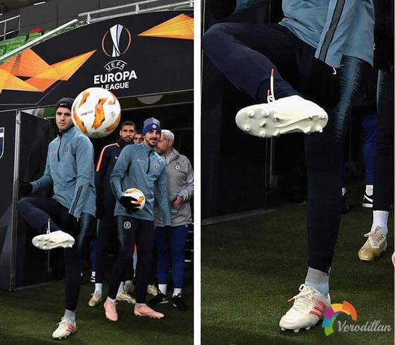 莫拉塔上脚:定制款adidas Copa 19.1足球鞋