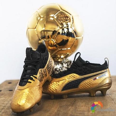 赫格贝里金球奖特别版战靴:PUMA ONE 1 Lth足球鞋