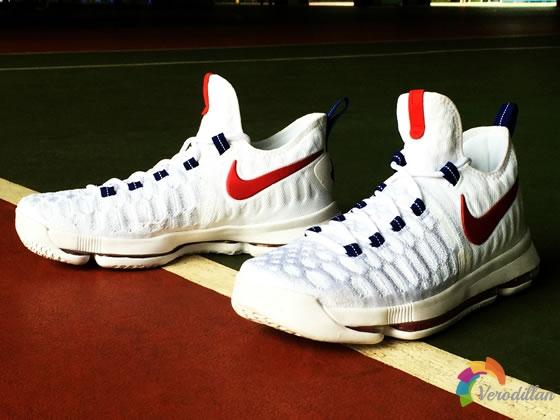 雷霆万钧:Nike KD9 USA综合测评