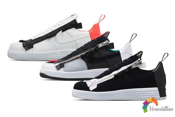 颠覆之作:ACRONYM x Nike Lunar Force 1发售简评