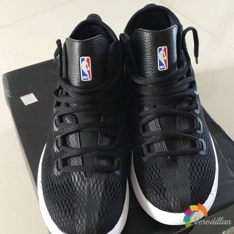 试穿测评:NBA轻骑兵2代篮球文化鞋试用体验图1