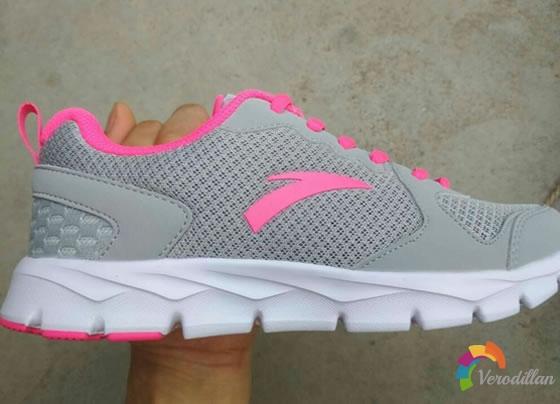 试穿测评:安踏92625507女子跑鞋试用体验