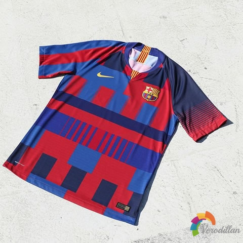 耐克/巴塞罗那合作20周年纪念球衣发布解读