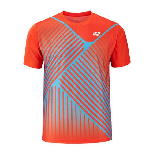 尤尼克斯110548BCR男子羽毛球T恤
