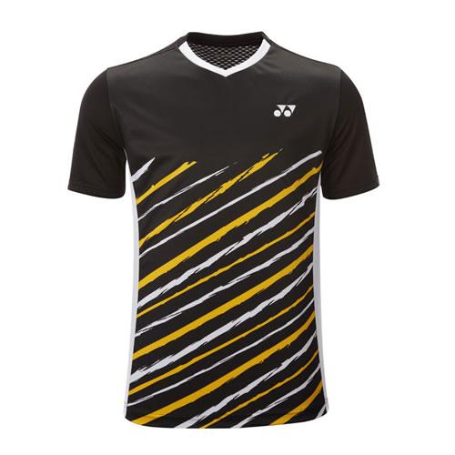 尤尼克斯110417BCR男子羽毛球T恤