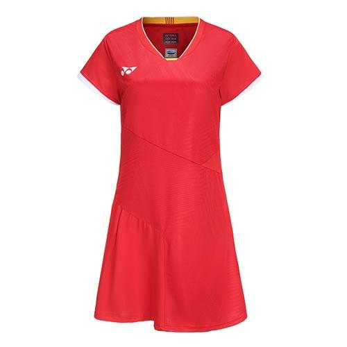 尤尼克斯210458BCR女子羽毛球T恤