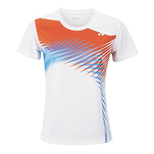 尤尼克斯210538BCR女子羽毛球T恤