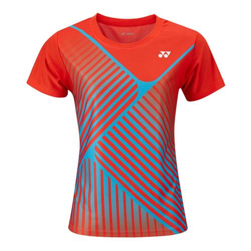尤尼克斯210548BCR女子羽毛球T恤