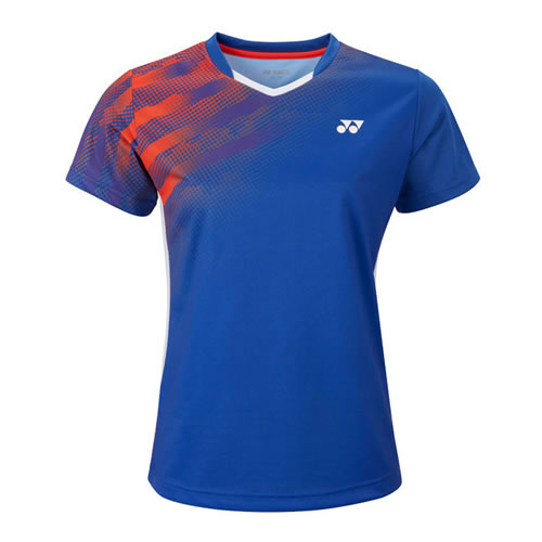 尤尼克斯210498BCR女子羽毛球T恤