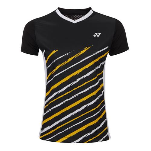 尤尼克斯210437BCR女子羽毛球T恤
