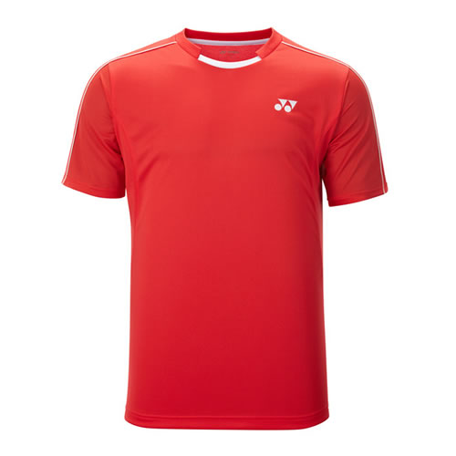尤尼克斯110028BCR男子羽毛球T恤