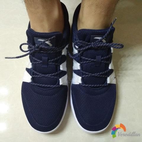 试穿测评:安踏91528014休闲板鞋试用体验