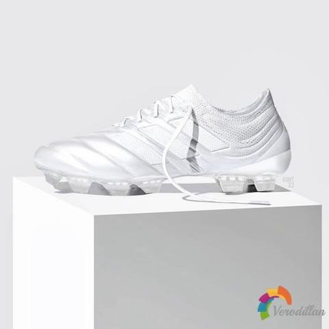 托尼克罗斯上脚:adidas Copa 19.1全白定制款足球鞋