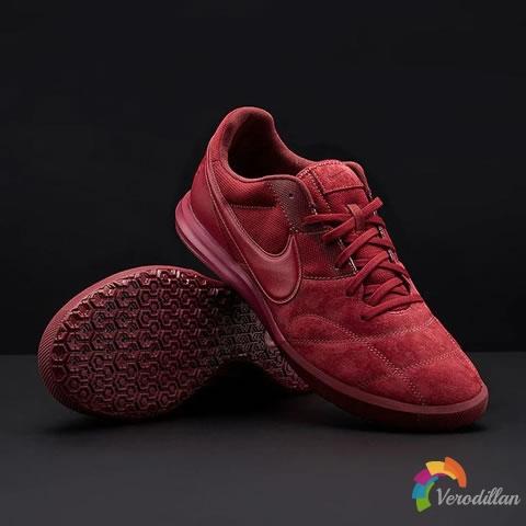 出色透气性:耐克新配色Premier 2.0 Sala小场足球鞋
