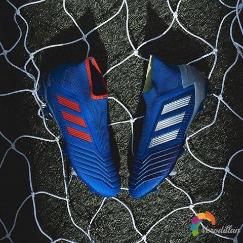 阿迪达斯新配色Predator 19.3 LL足球鞋发布解读
