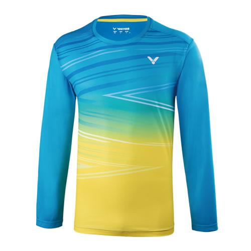 胜利T-85101男女羽毛球长袖T恤