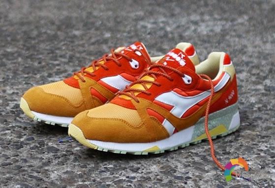 联名鞋款:Diadora N.9000 Aperitivo发布解读
