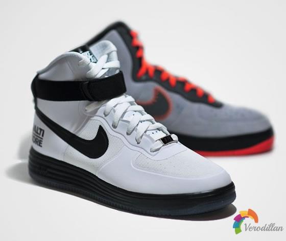 轻量透气:解读Nike Lunar Force 1 Hi Baltimore