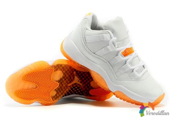 Air Jordan 11 Low Girls Citrus发布简评
