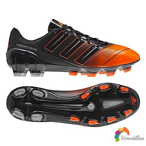 阿迪达斯推出adidas adipower predator SL黑橙配色