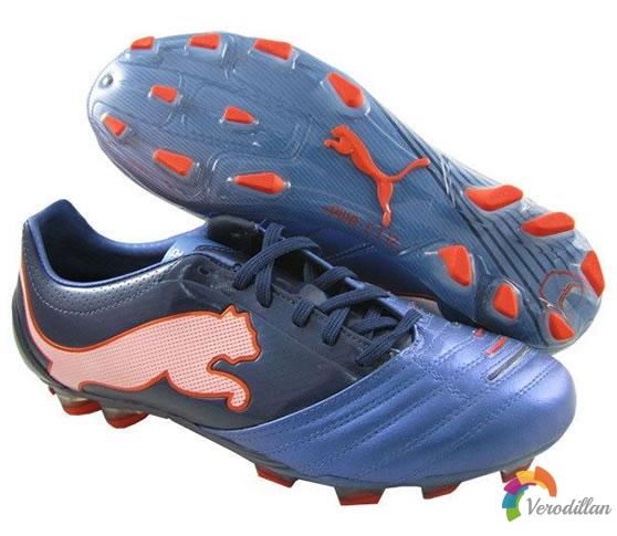 Puma PowerCat 1.12(蓝白橙配色)足球鞋简评