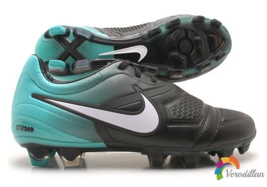 Nike CTR360 Maestri(黑白蓝配色)细节解析