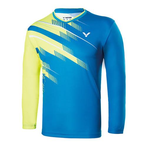 胜利T-75102男女羽毛球长袖T恤