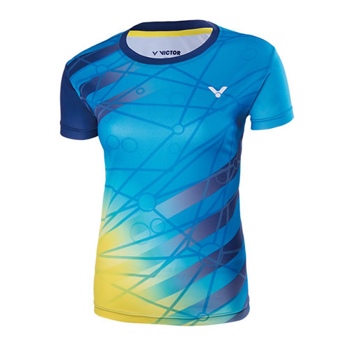 胜利T-76005女子羽毛球T恤