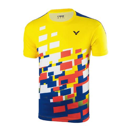 胜利T-80005男女羽毛球T恤